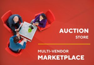 I will build an auction store or a multi vendor marketplace