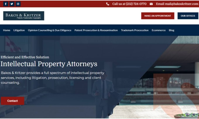 I will design a Wakiliweb: legal, lawyer, attorney or law firm website
